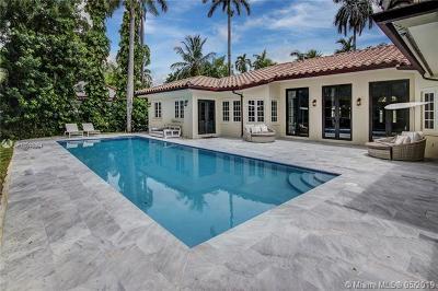 Miami Beach Single Family Home For Sale: 2532 Lake Ave
