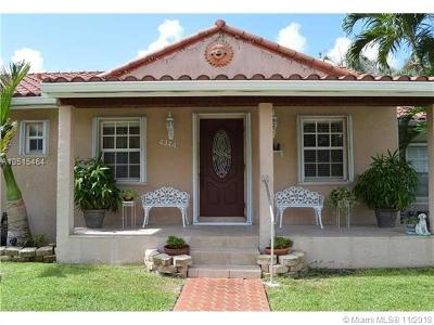 Miami-Dade County Single Family Home For Sale: 4344 SW 13 St