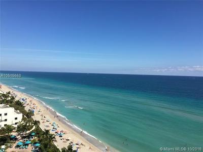 Apogee Beach, Apogee Beach Condo, Apogee Beach Condominium Rental For Rent: 3951 S Ocean Dr #1102