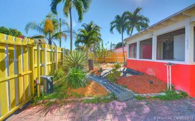 Fort Lauderdale Single Family Home For Sale: 1625 NW 2nd Ave