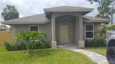 West Palm Beach Single Family Home For Sale: 125 Dorothy Dr