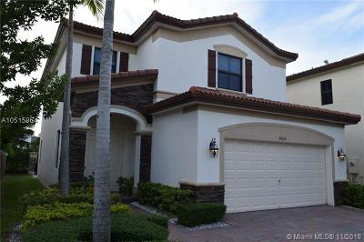 Doral Single Family Home For Sale: 8830 NW 101st Pl