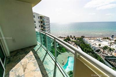 Hollywood Condo For Sale: 3001 S Ocean Dr #1525