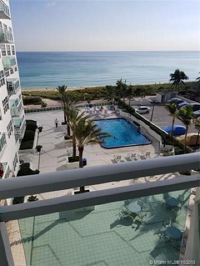 Miami Beach Condo For Sale: 6917 Collins Ave #709