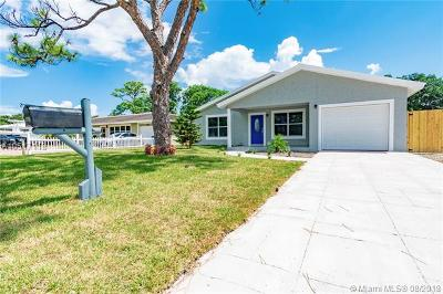 Oakland Park Single Family Home For Sale: 1246 NE 36th St
