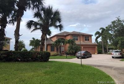 Miramar Single Family Home For Sale: 5457 SW 189th Ave