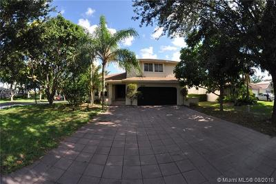 Coconut Creek Single Family Home For Sale: 4520 NW 52nd St