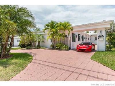 Miami Beach Single Family Home For Sale: 595 N Shore Dr