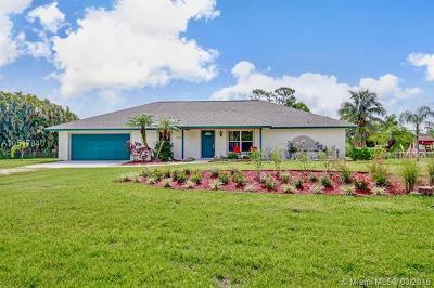 Jupiter Single Family Home For Sale: 15760 N 97th Dr N