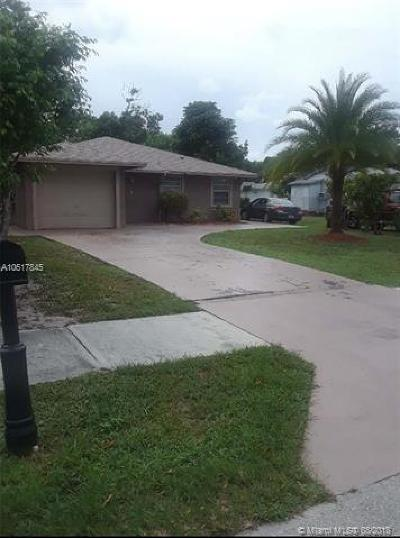Palm Beach County Single Family Home For Sale: 34 NW 7th Ave