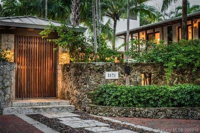 Miami FL Single Family Home For Sale: $3,290,000