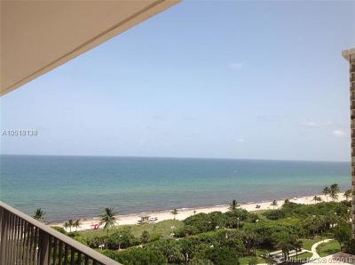 Hollywood Condo For Sale: 1201 S Ocean Dr #1405N