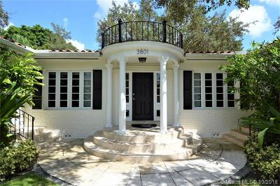 Coral Gables Multi Family Home For Sale: 3801 Segovia St