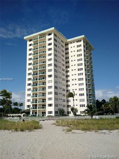 Lauderdale By The Sea Condo For Sale: 6000 N Ocean Blvd #15F