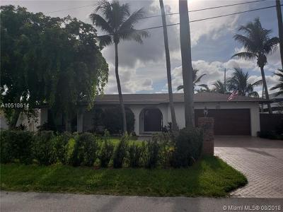 Fort Lauderdale Single Family Home For Sale: 325 Isle Of Capri Dr