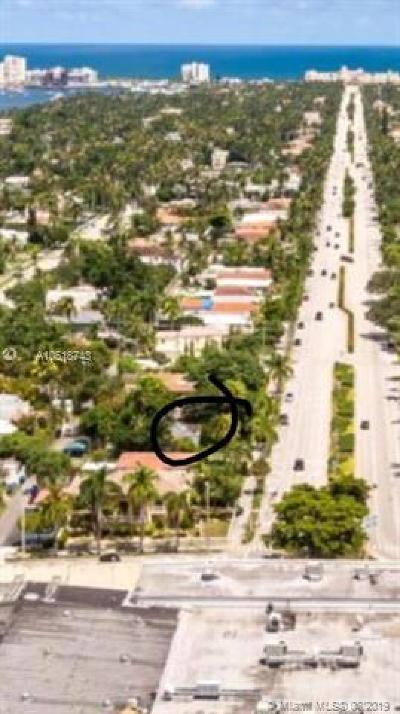 Broward County Residential Lots & Land For Sale: 1631-1635 Hollywood Blvd