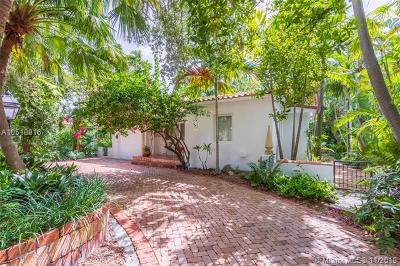 Coral Gables Single Family Home For Sale: 1001 Columbus Blvd