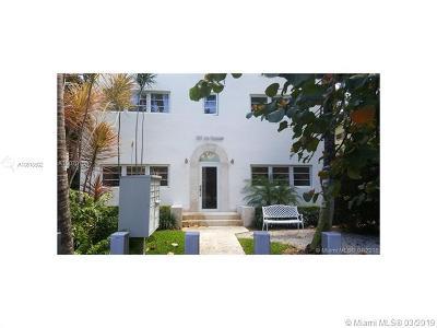 Miami Beach Condo For Sale: 929 Michigan Ave #2