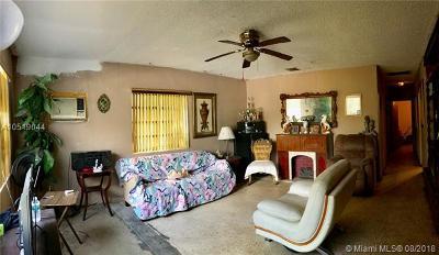 North Miami Beach Single Family Home For Sale: 1590 NE 153rd Ter