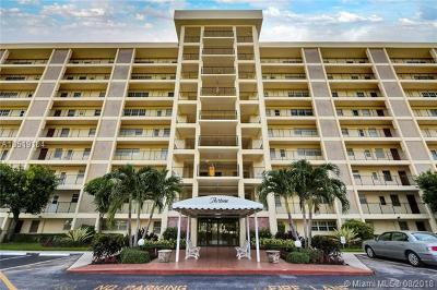 Pompano Beach Condo For Sale: 3300 N Palm Aire Dr #206