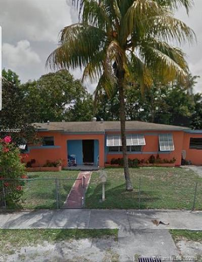 Miami Gardens Single Family Home For Sale: 1752 NW 185th Ter