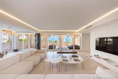 Miami Beach FL Condo For Sale: $6,490,000