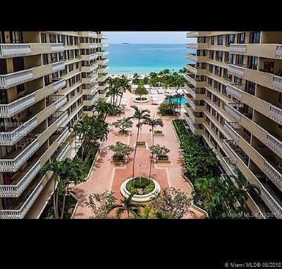 Bal Harbour Condo For Sale: 9801 Collins Ave #9S