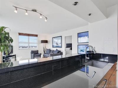 Miami Beach Condo For Sale: 650 West Ave #2611