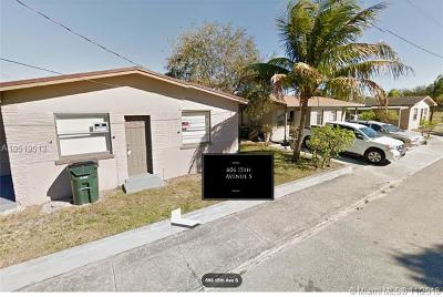 Palm Beach County Multi Family Home For Sale: 606 15th Ave S