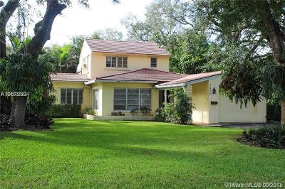Coral Gables Single Family Home For Sale: 1250 Mendavia Ave