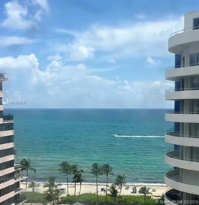 Miami Beach Condo For Sale: 5161 Collins Ave #1504