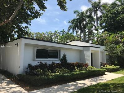 Miami Single Family Home For Sale: 3850 Hardie Ave