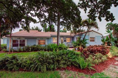 Fort Lauderdale Single Family Home For Sale: 714 N Victoria Park Rd