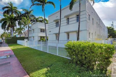 Miami Beach Condo For Sale: 1525 Pennsylvania Ave #3