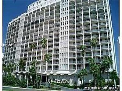 Miami Beach Condo For Sale: 5401 Collins Ave #316