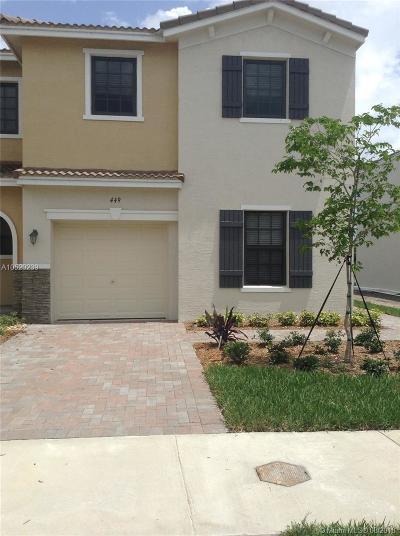 Miami Condo For Sale: 449 NE 194th Ter