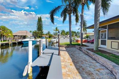 Dania Beach Single Family Home For Sale: 826 Argonaut Is