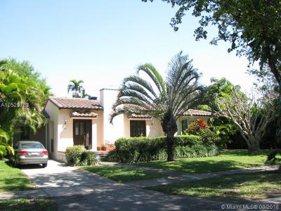 Coral Gables Single Family Home For Sale: 227 Aledo Av