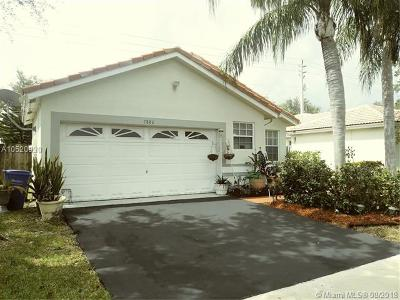 Margate Single Family Home For Sale: 7880 NW 24th St