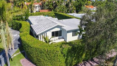 Miami Beach Single Family Home For Sale: 5111 Cherokee Ave