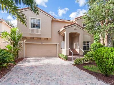 Pembroke Pines Single Family Home For Sale: 7578 NW 17th Dr