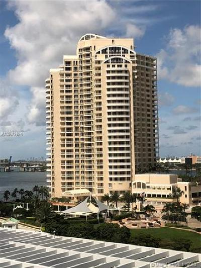 Miami Condo For Sale: 888 Brickell Key Dr #1102