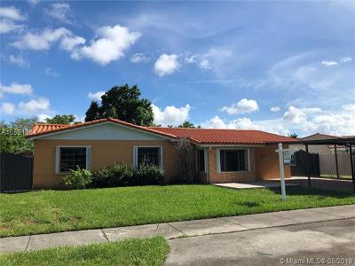 Miami Single Family Home For Sale: 11780 SW 27th St