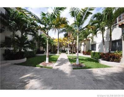 Miami Beach Condo For Sale: 1500 Pennsylvania Ave #10A
