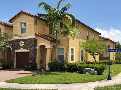 Doral Condo For Sale: 8607 NW 113th Ct #8607