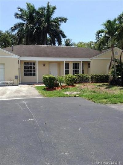 Cutler Bay Single Family Home For Sale: 9908 SW 221st Ter