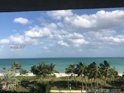 Miami Beach Condo For Sale: 7330 Ocean Ter #6-B