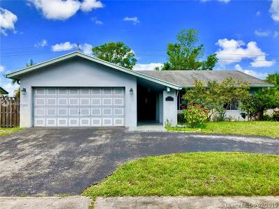 Broward County Single Family Home For Sale: 2771 NW 108th Ter