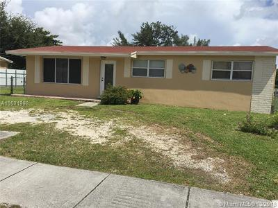 Miami Gardens Single Family Home For Sale: 2201 NW 172nd Ter