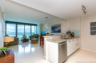 Blue Condo, Blue Condo - Waterfront, Blue Condominium Condo For Sale: 601 NE 36th St #811